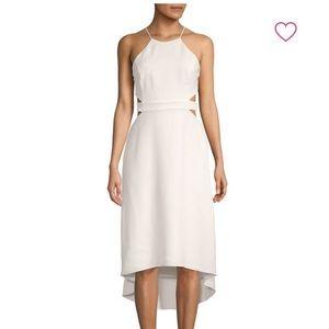 NWT Halston Heritage Cutout Backless Halter Dress